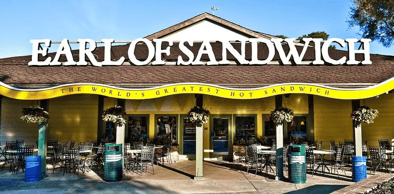 Earl of Sandwich no Disney Springs