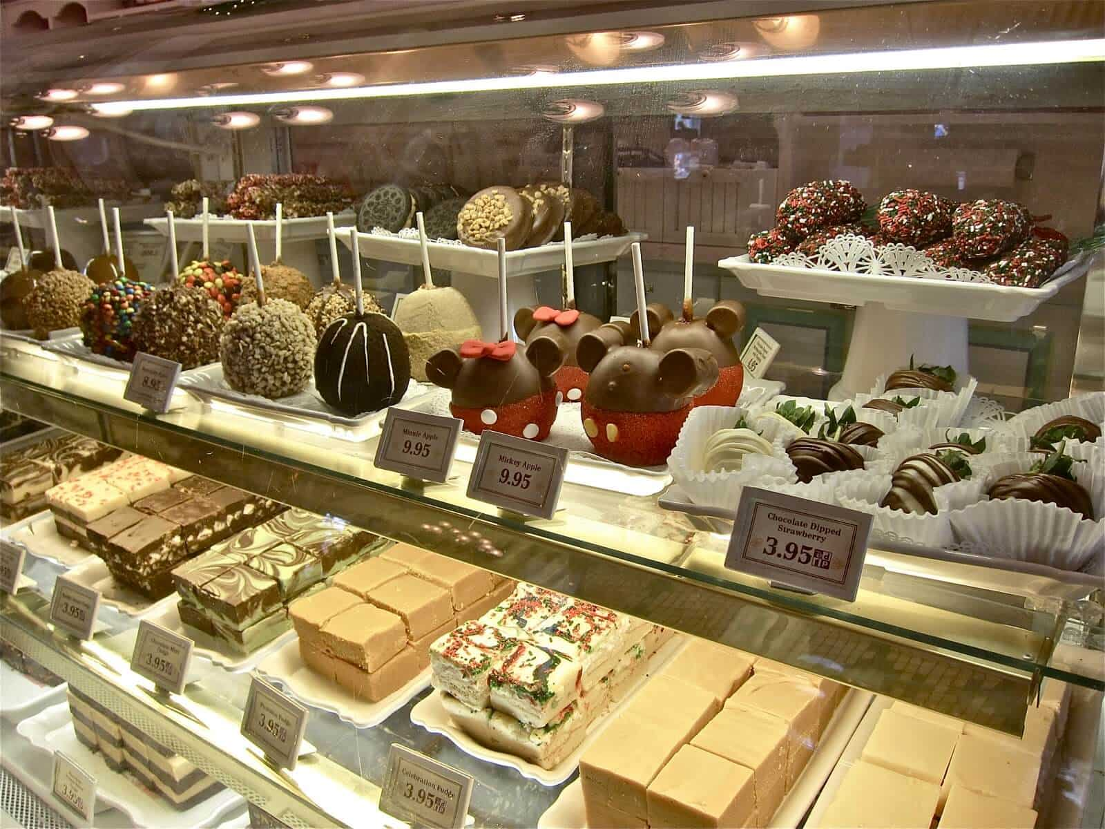 Confectionery no Magic Kingdom em Orlando