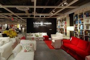 Interior da loja Ikea em Miami: Produtos