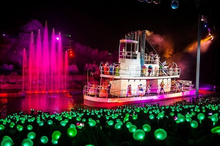 Show Fantasmic no Disney's Hollywood Studios em Orlando