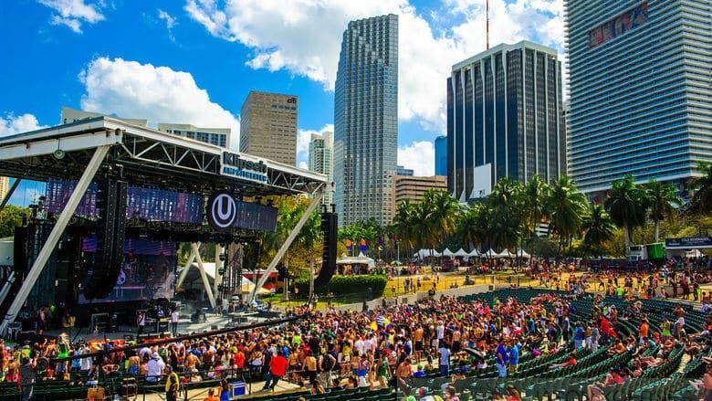 Ultra Music Festival no Bayfront Park em Miami