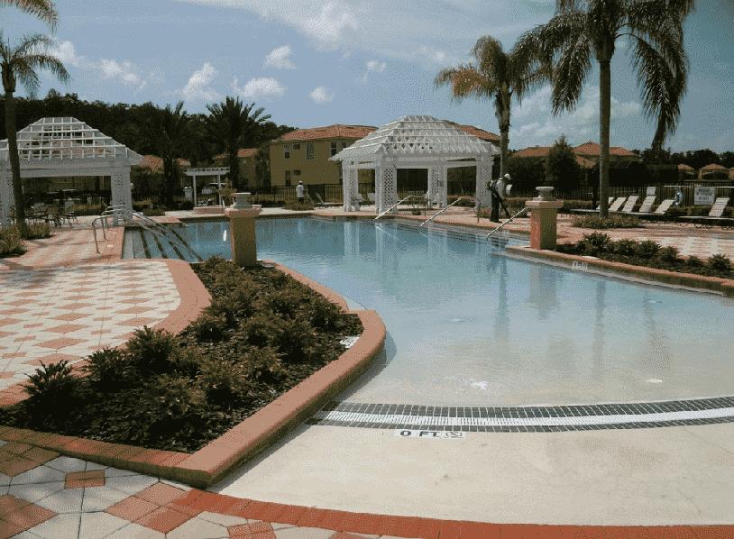 Piscina do Bella Vida Resort em Orlando