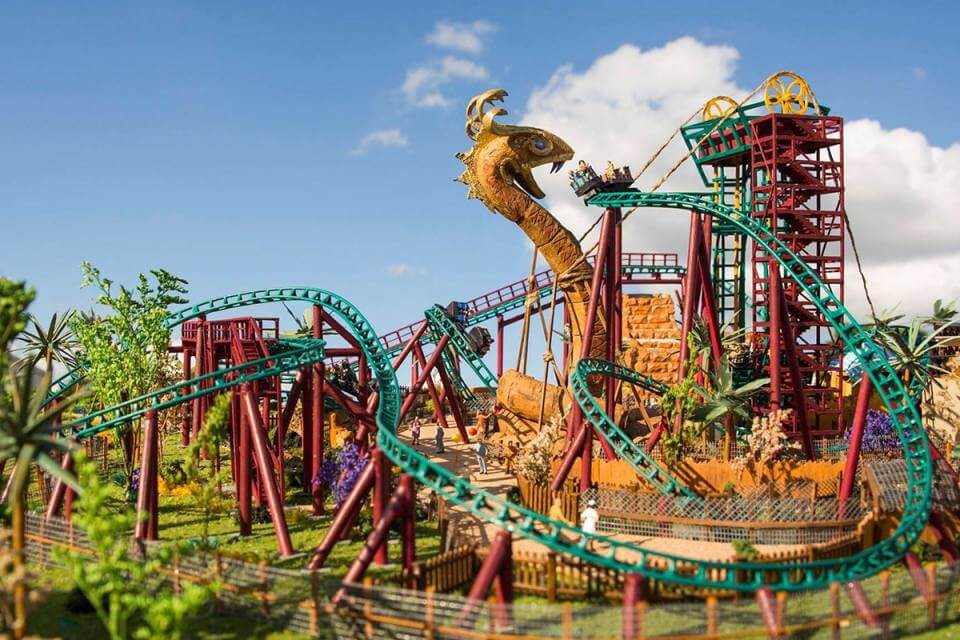 Parque Busch Gardens Bay em Tampa