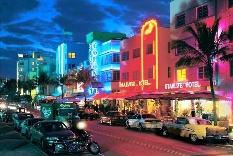 Ocean Drive Onde Ficar Miami