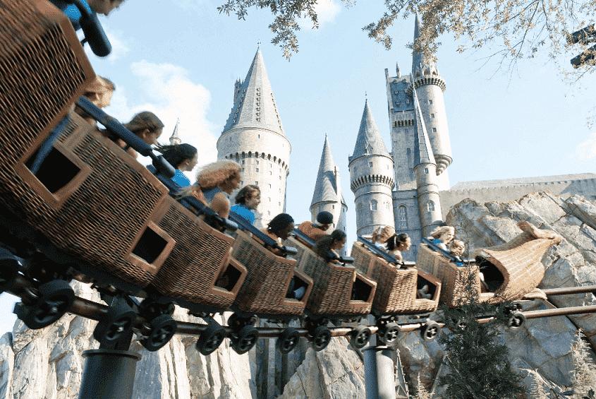Montanha-russa do Harry Potter