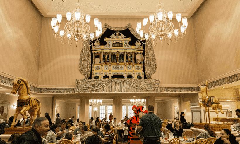 Restaurante 1900 Park Fare na Disney | Cinderela e Alice