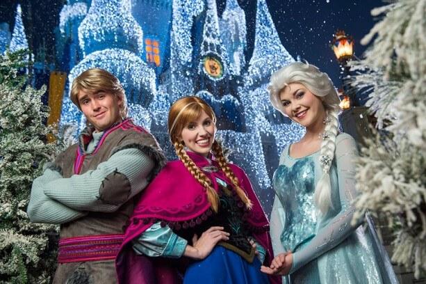 Frozen na Disney