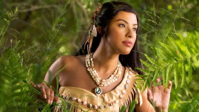 Pocahontas na Disney
