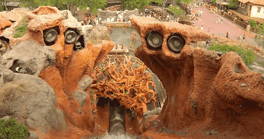 Splash Mountain no Magic Kingdom em Orlando