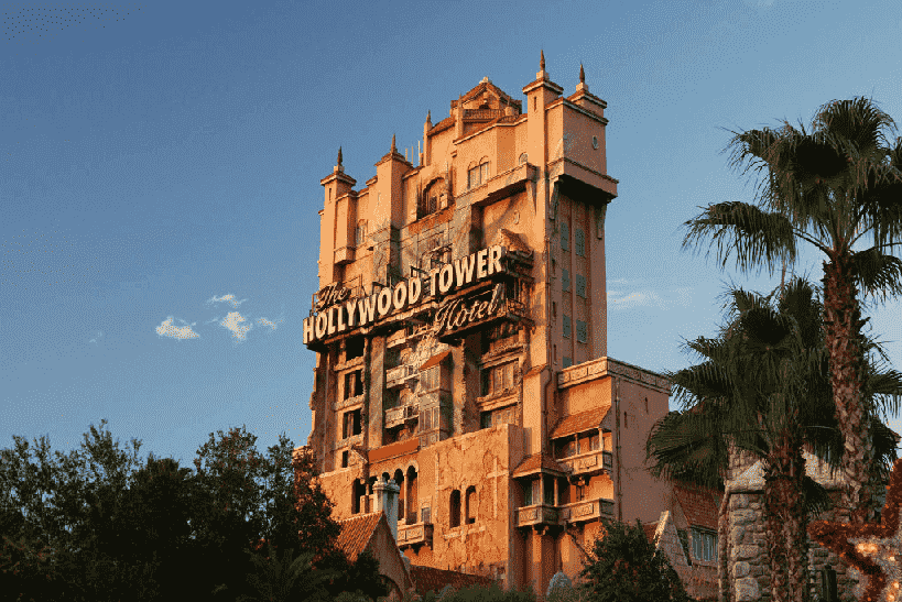 Twilight Zone Tower of Terror na Disney em Orlando