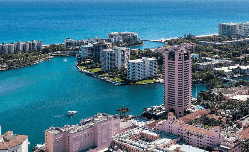 Boca Raton em Miami: Praia, compras e restaurantes