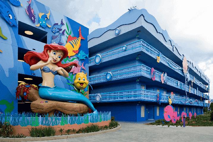 Hotel econômico da Disney