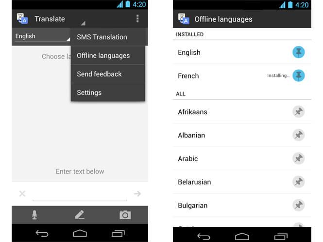 App Google Tradutor em Miami