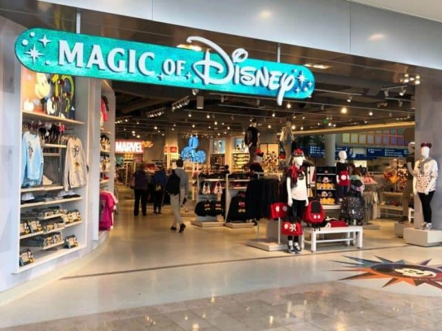 Loja Magic of Disney do Aeroporto Internacional de Orlando