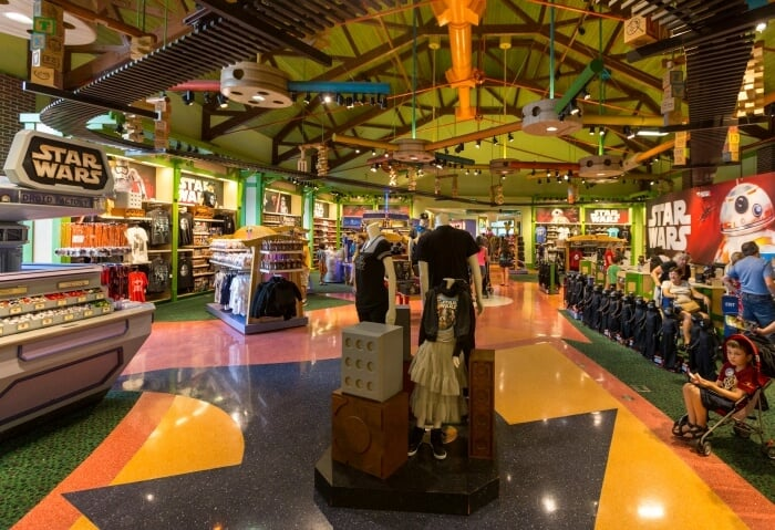 Loja Once Upon a Toy no Disney Springs em Orlando - produtos