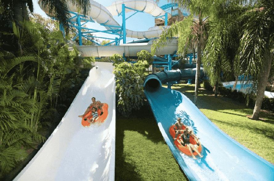 Parque Adventure Island em Tampa: toboáguas