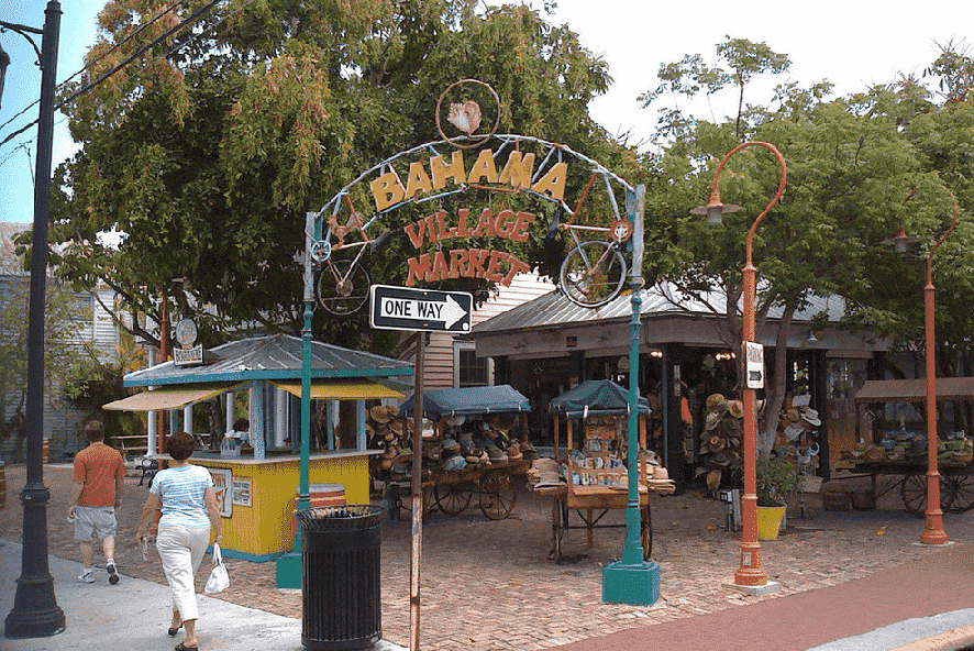 Bahama Village em Key West em Miami
