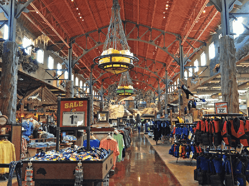 Bass Pro Shops Outdoor World na International Drive em Orlando