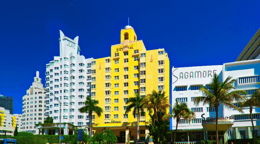 Deco District em Miami