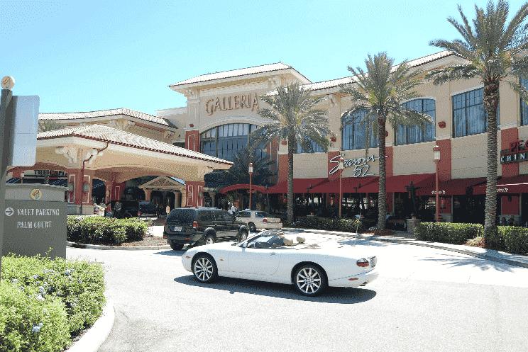 Las Olas Boulevard e Galleria em Fort Lauderdale