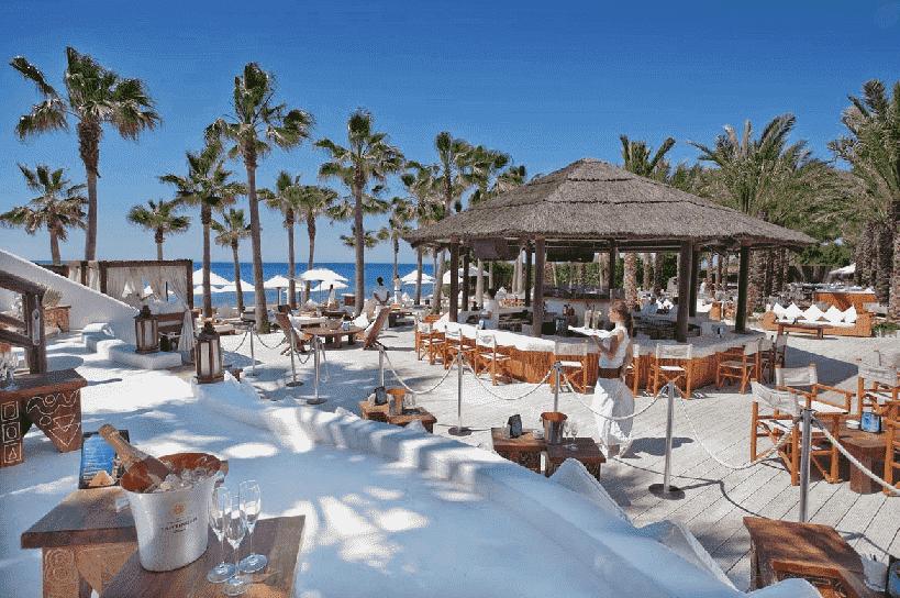 Balada Nikki Beach Club em Miami