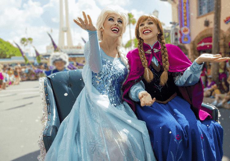 Novo show do castelo da Cinderela na Disney