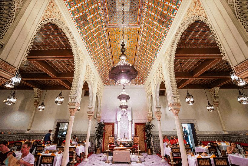 Restaurante Marrakesh em Orlando