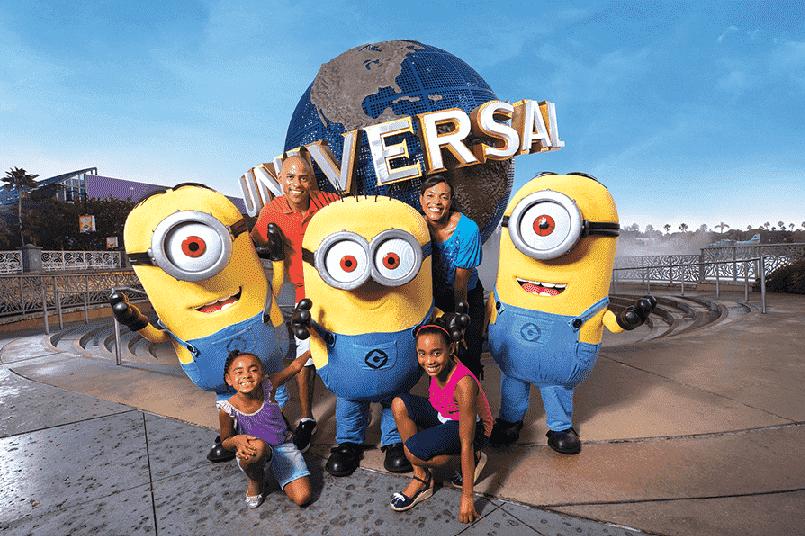 Passeio na Universal Studios em Orlando