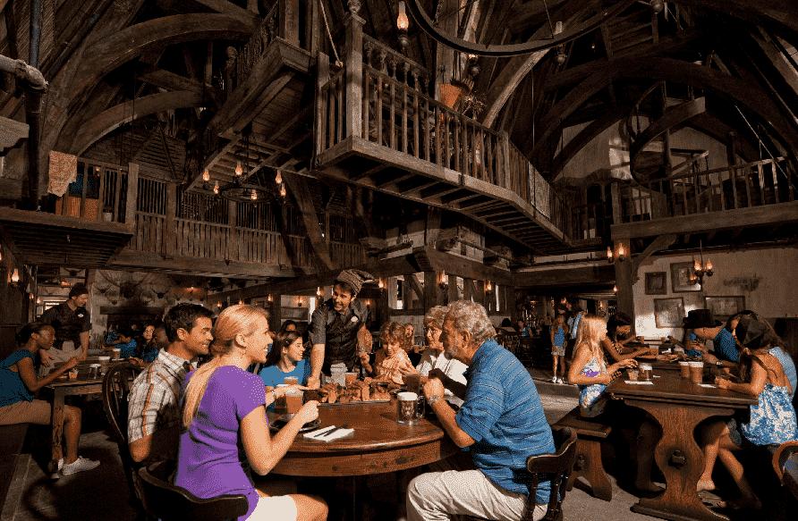 Restaurantes no Port of Entry no Islands of Adventure