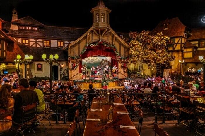 Restaurantes no Epcot em Orlando