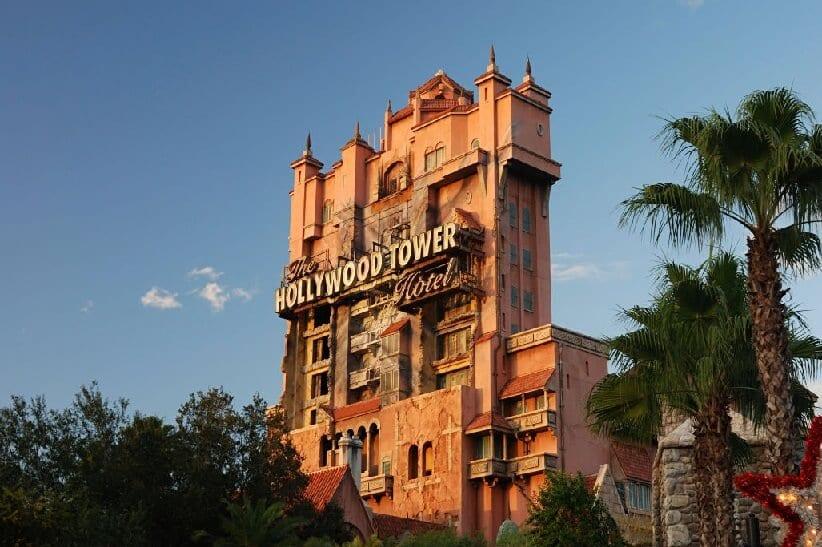 Torre do terror no Hollywood Studios na Disney em Orlando