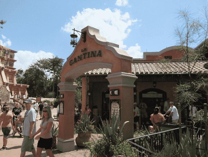 Restaurante La Cantina de San Angel na Disney em Orlando
