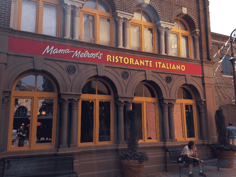 Mama Melrose's Ristorante Italiano no Hollywood Studios em Orlando
