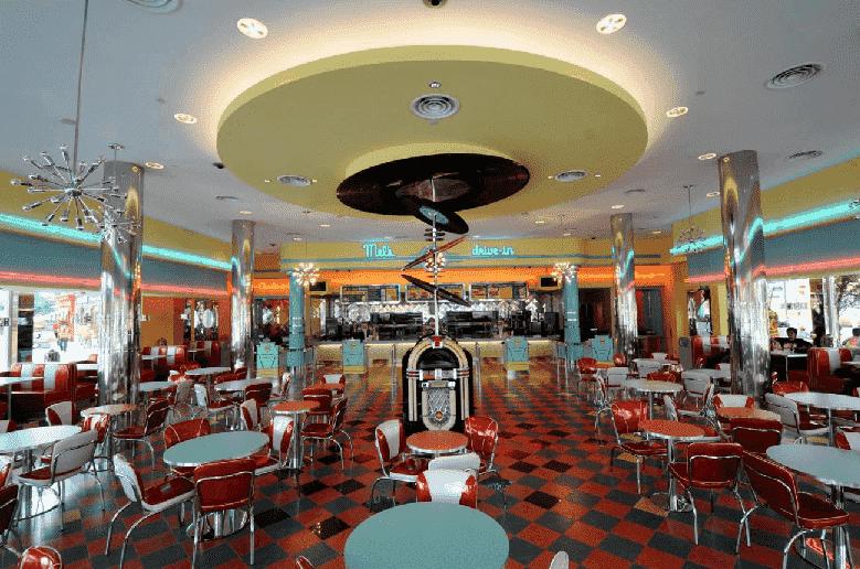Restaurantes no Hollywood Dining no Universal Studios em Orlando
