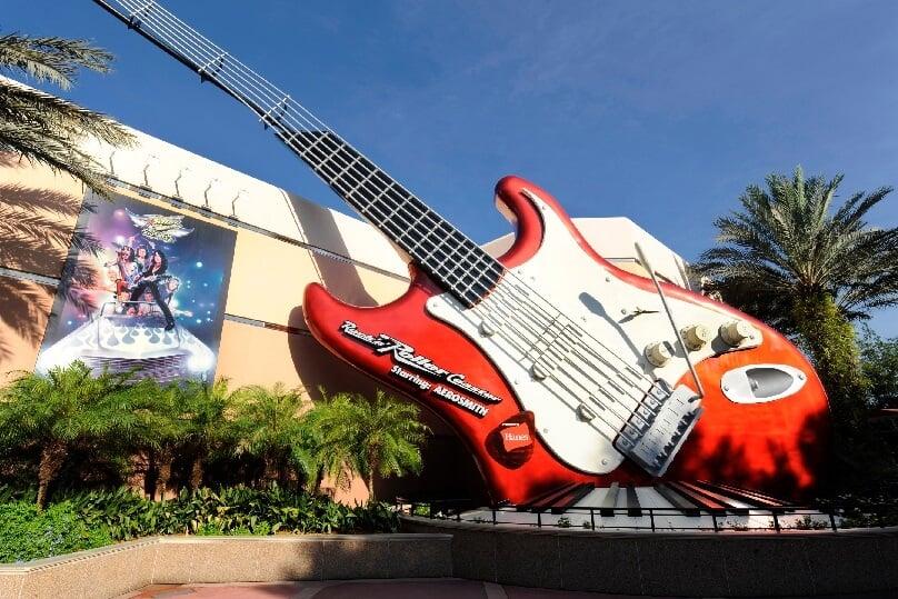 Montanha-russa do Aerosmith no Hollywood Studios em Orlando