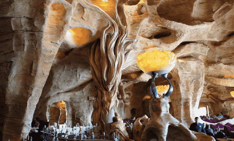 Restaurante Mythos no The Lost Continent® no Islands of Adventure em Orlando