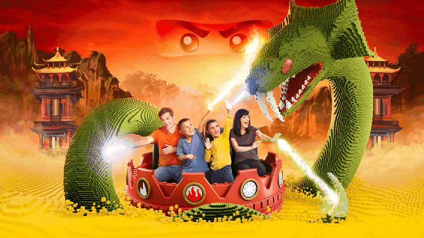 LEGO Ninjago – The Ride em Orlando