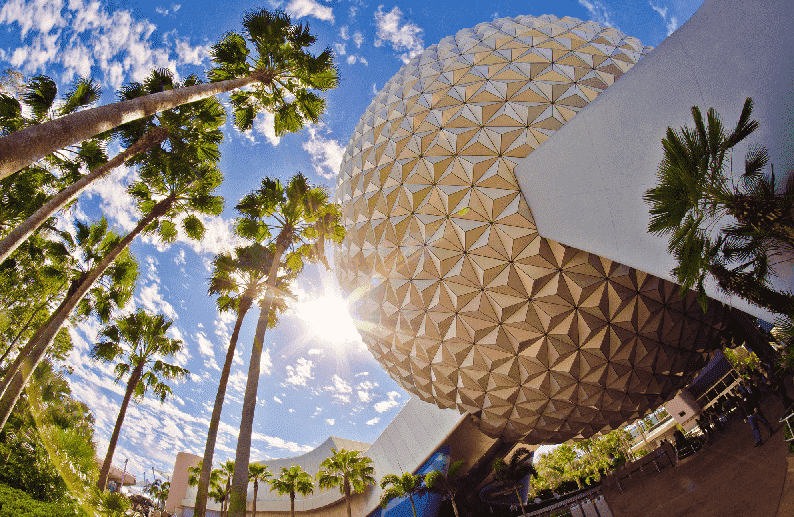 Onde encontrar personagens no parque Epcot da Disney Orlando