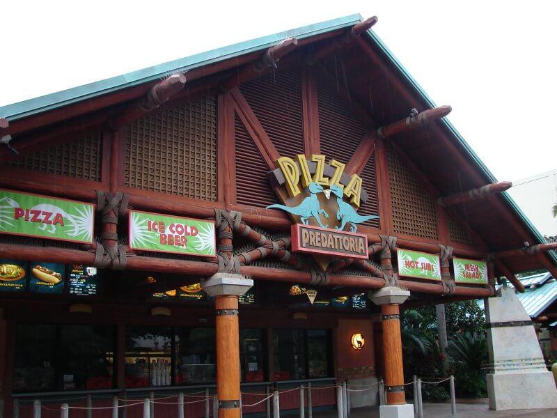 Restaurantes do Jurassic Park no Islands of Adventure em Orlando