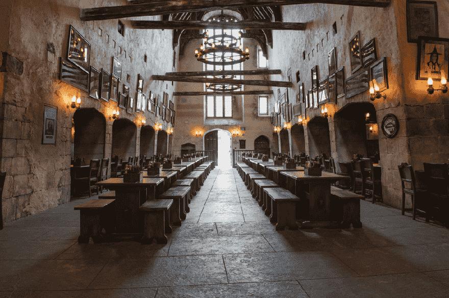 Leaky Cauldron: Restaurantes no The Wizarding World of Harry Potter™ – Diagon Alley™ no Universal Studios em Orlando