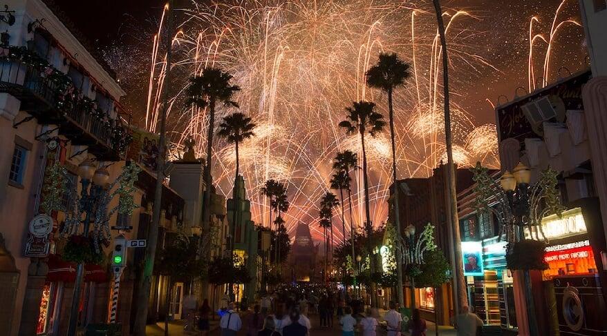 Show de fogos do Star Wars no Hollywood Studios em Orlando