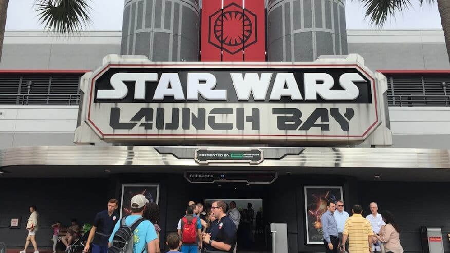 Star Wars Launch Bay no Hollywood Studios em Orlando