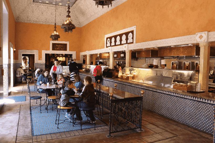 Restaurante Tangerine Café na Disney em Orlando