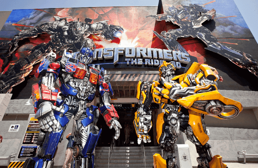 Transformers: The Ride 3D na Universal Studios em Orlando
