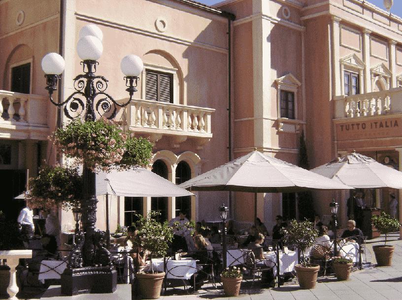 Restaurante Tutto Italia Ristorante na Disney em Orlando