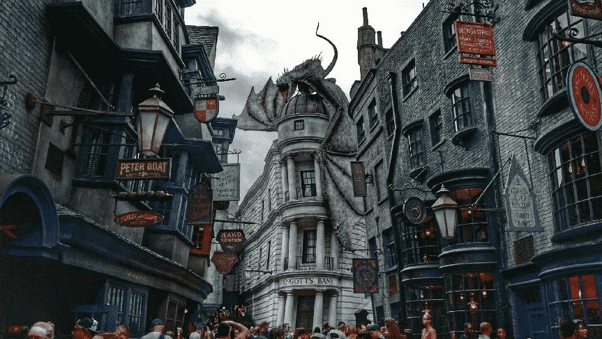 Restaurantes no Universal Studios em Orlando - Área do Harry Potter