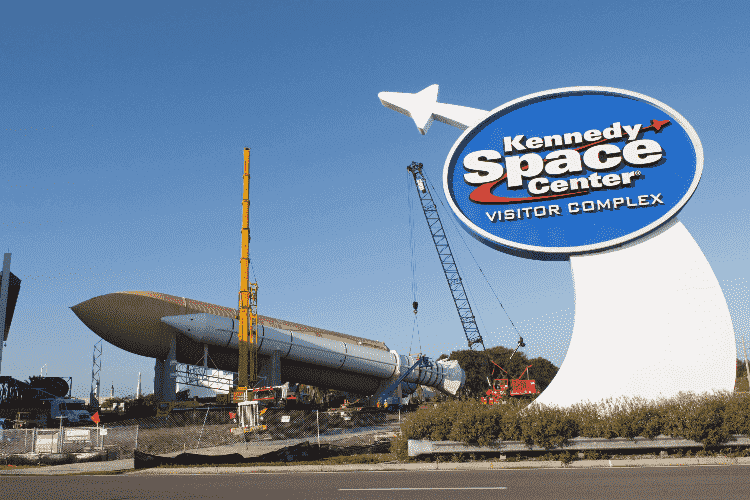 Kennedy Space Center em Orlando: entrada