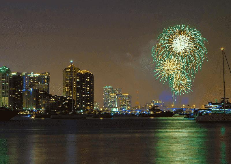 Ano-Novo, New Year's Eve.