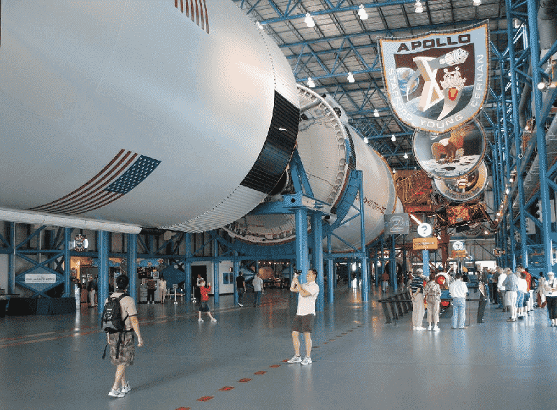 Apollo/Saturn V Center no Kennedy Space Center em Orlando