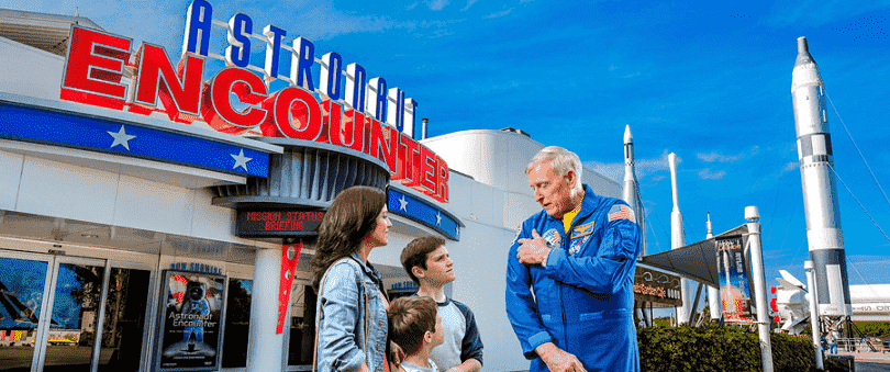 Astronaut Encounter no Kennedy Space Center em Orlando